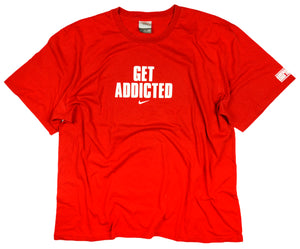 "Vintage Nike ""Get Addicted"" T-Shirt"