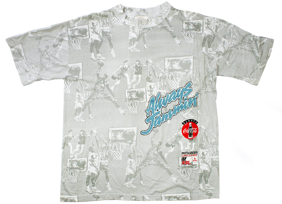 "Vintage NBL ""Always Jammin'"" T-shirt"