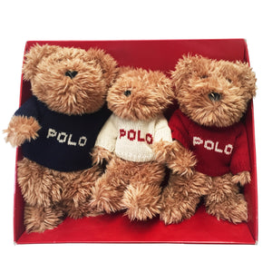 "Vintage Ralph Lauren ""The Bears That Care"" Set (2002)"