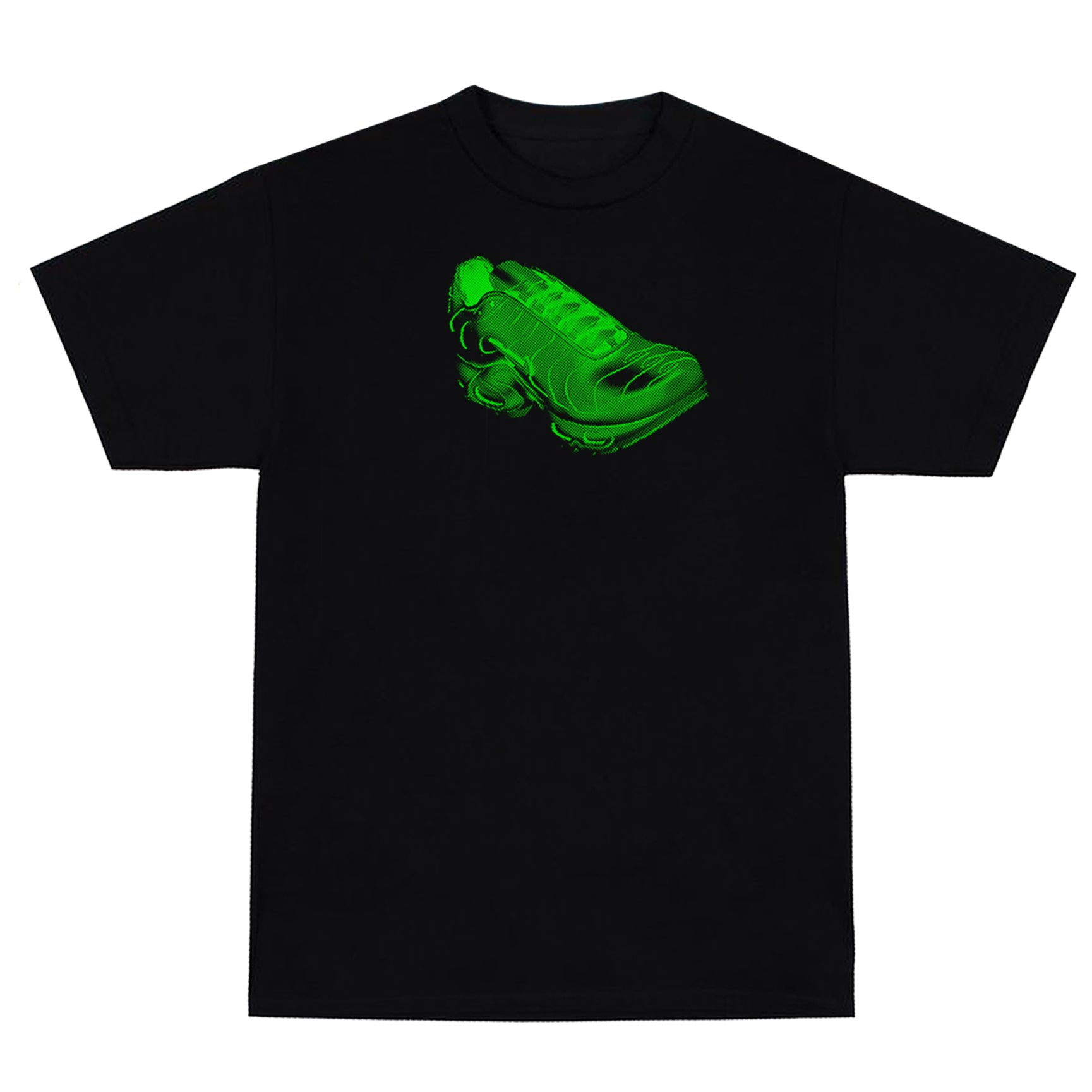 """Halftune"" T-shirt (LIME GREEN)"