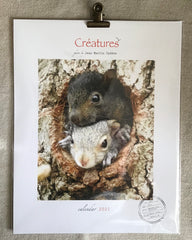 2021 CALENDAR OF WILDLIFE