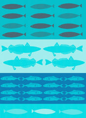 MOUTET POISSONS KITCHEN TOWEL