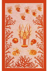 AQUARIUS KITCHEN TOWEL, SOLEIL
