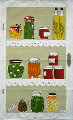LES BOCAUX KITCHEN TOWEL