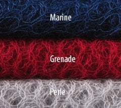 MOHAIR AND SILK SHAWL, MARINE