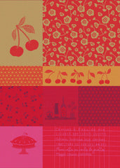 MOUTET CERISES KITCHEN TOWEL
