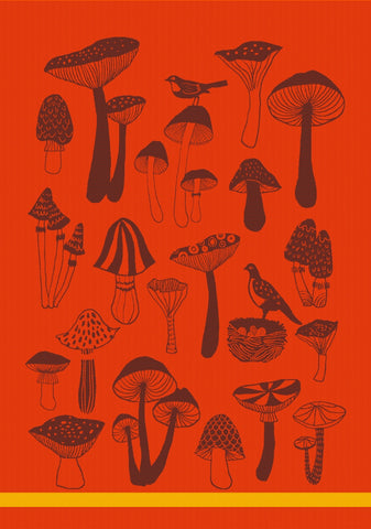 MOUTET CHAMPIGNONS KITCHEN TOWEL