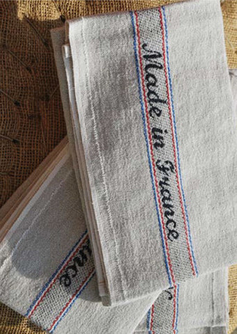 MADE IN FRANCE LINEN KITCHEN TOWEL