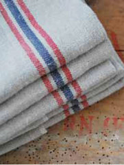 DRAPEAU LINEN KITCHEN TOWEL, NATUREL