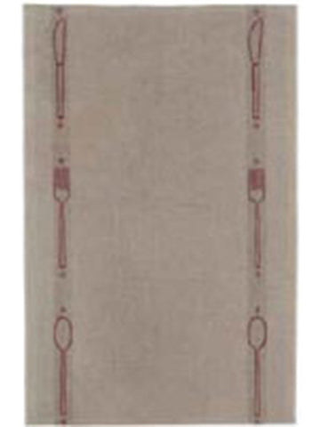 A TABLE LINEN TABLE RUNNER, ROUGE