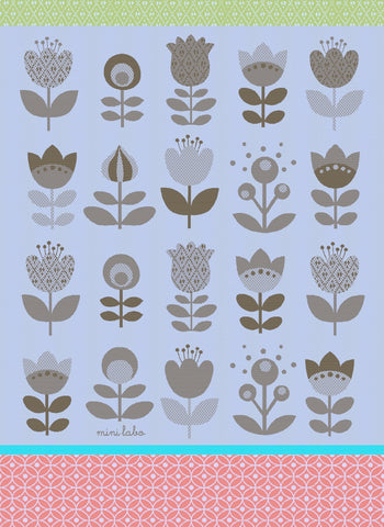 MOUTET TULIPES, KITCHEN TOWEL