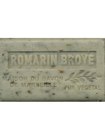 SAVON DE PROVENCE, ROMARIN (ROSEMARY WITH HERB PIECES)