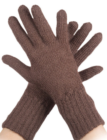 MOHAIR AND SILK GLOVES