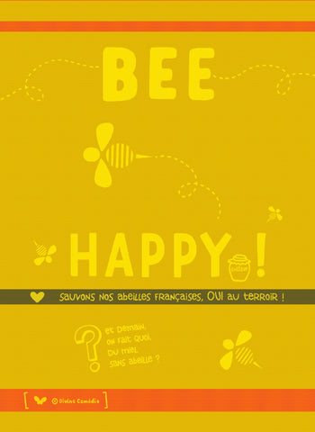 MOUTET BEE HAPPY KITCHEN TOWEL