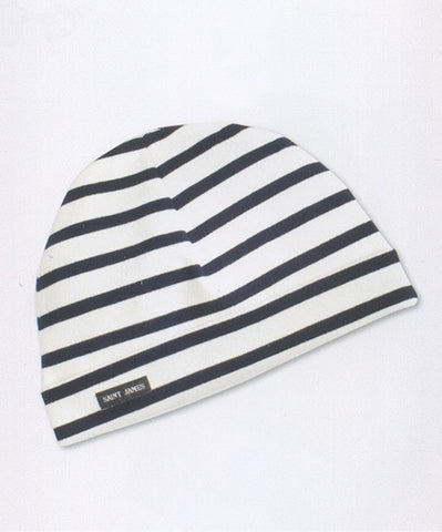 SAINT JAMES STRIPED COTTON WATCH CAP, CHILDREN'S