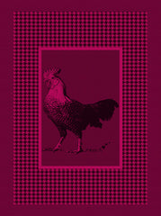 COQ KITCHEN TOWEL, CERISE