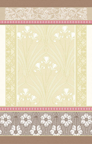 ALICE KITCHEN TOWEL, BEIGE