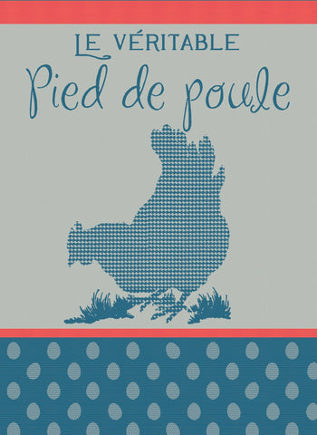MOUTET PIED DE POULE KITCHEN TOWEL