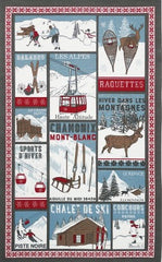 A LA MONTAGNE KITCHEN TOWEL