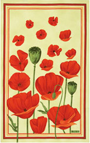 COQUELICOTS KITCHEN TOWEL