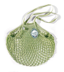 COTTON STRING BAG WITH LONG HANDLES, PERGOLA