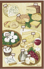 LES FROMAGES KITCHEN TOWEL
