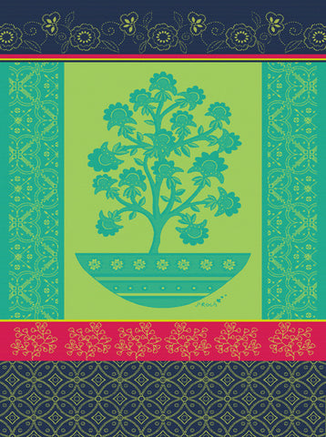 ART CO KITCHEN TOWEL, TURQUOISE