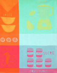 MOUTET SUCRE FRUIT KITCHEN TOWEL