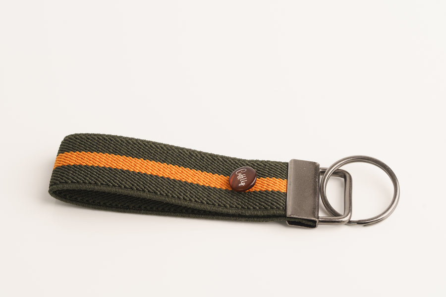 KeyChain - Green Orange