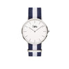 CuffWatch - Gold - Blue & White