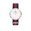 Cuff Watch - Blue & Red