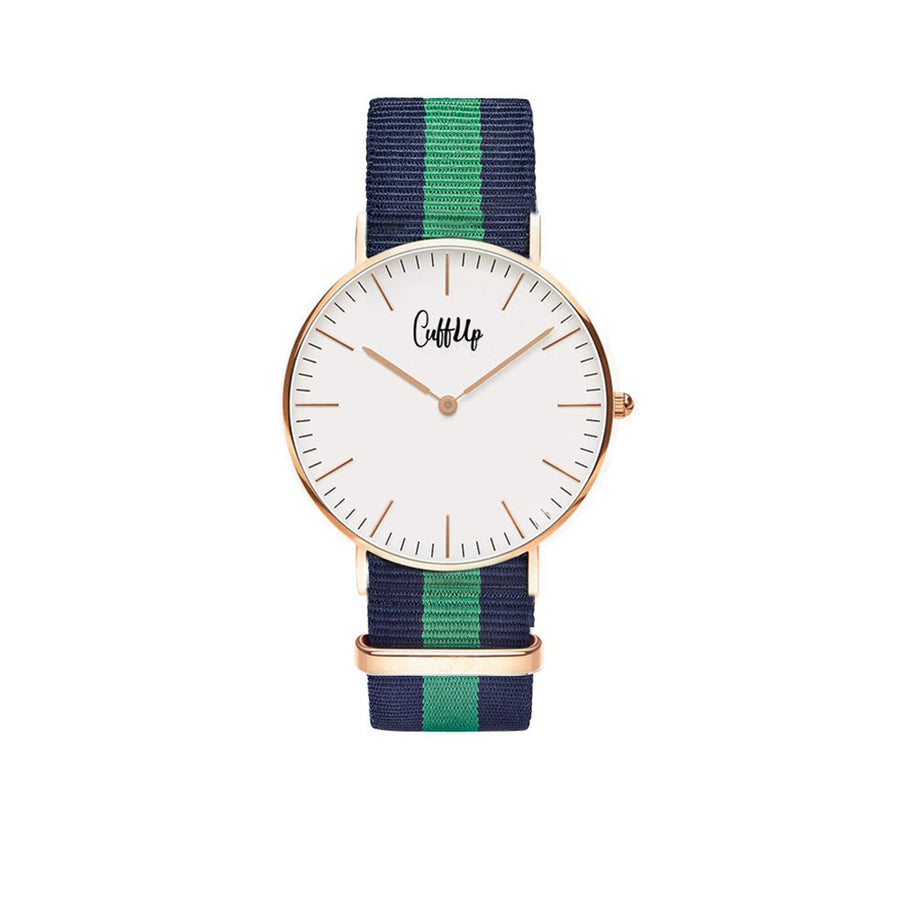 Cuff Watch - Blue & Green