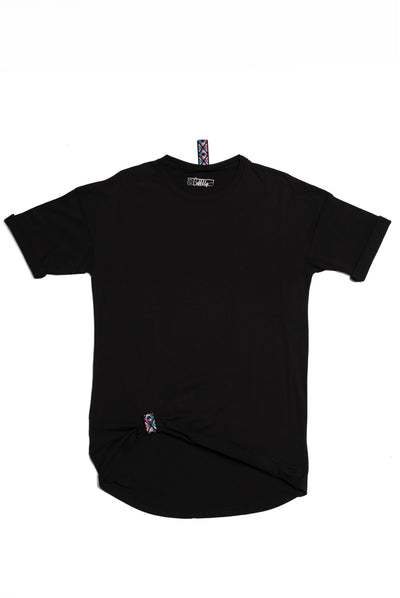 Black CuffUp T-Shirt