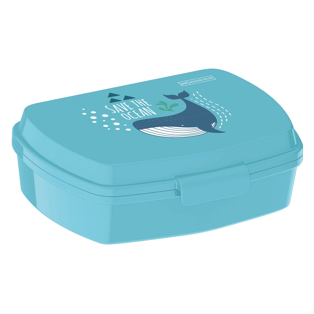 Ανακυκλωμένο Lunch Box Miquelrius - Save the Ocean Recycled