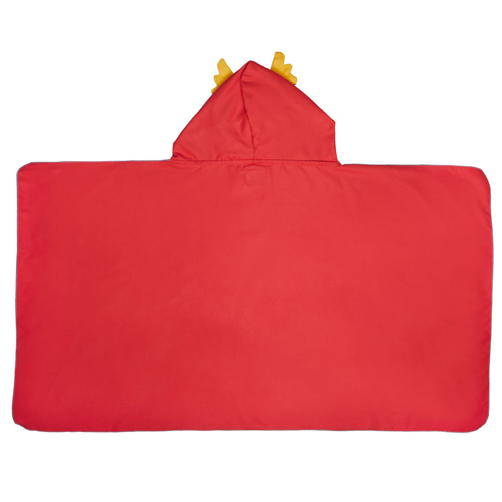 Πόντσο Πετσέτα Microfiber Superhero Maxi Red