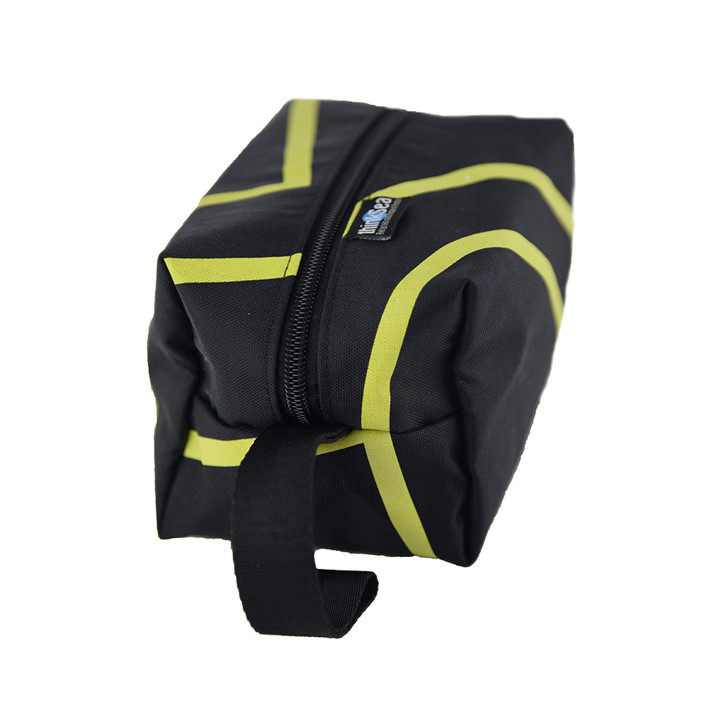 thinkSea Wash Bag Black-Yellow