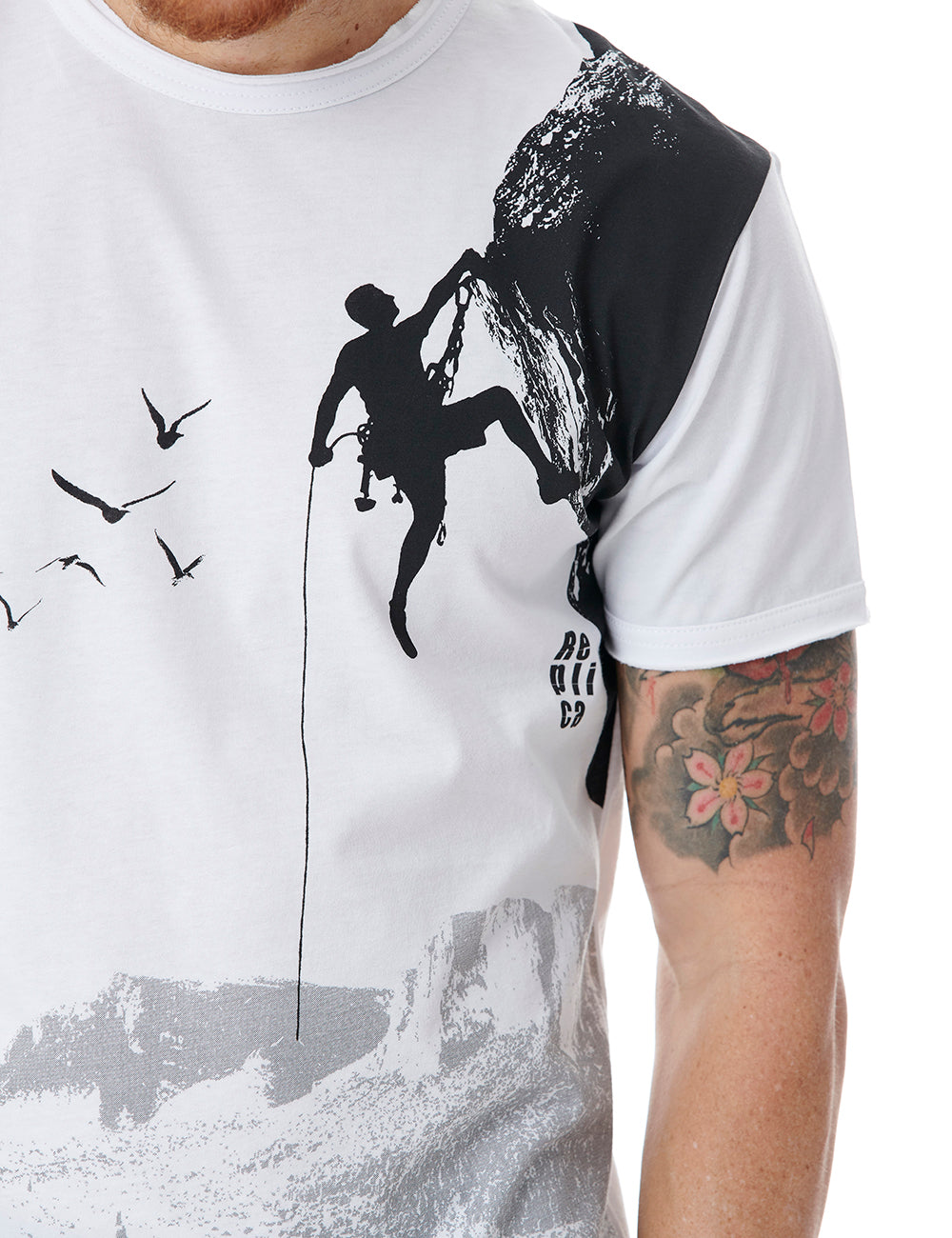 Climb tshirt Replica Greece White