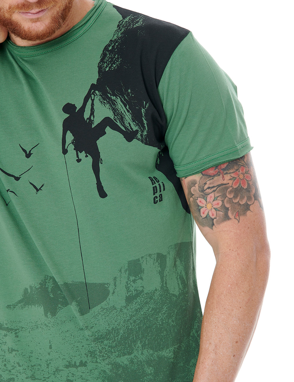 Climb tshirt Replica Greece Green