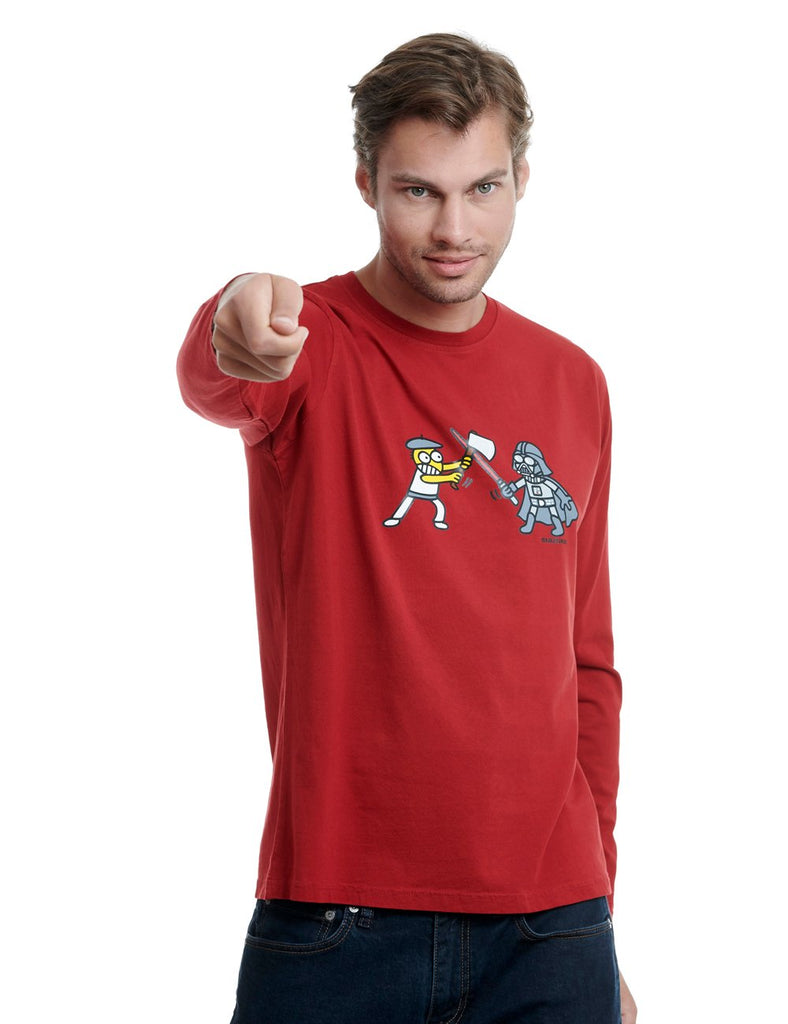 Aizkogalaxia long sleeve kukuxumusu red