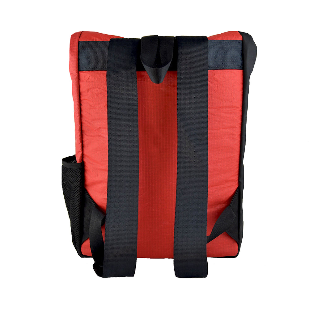 thinkSea Red-Black Recycled Backpack