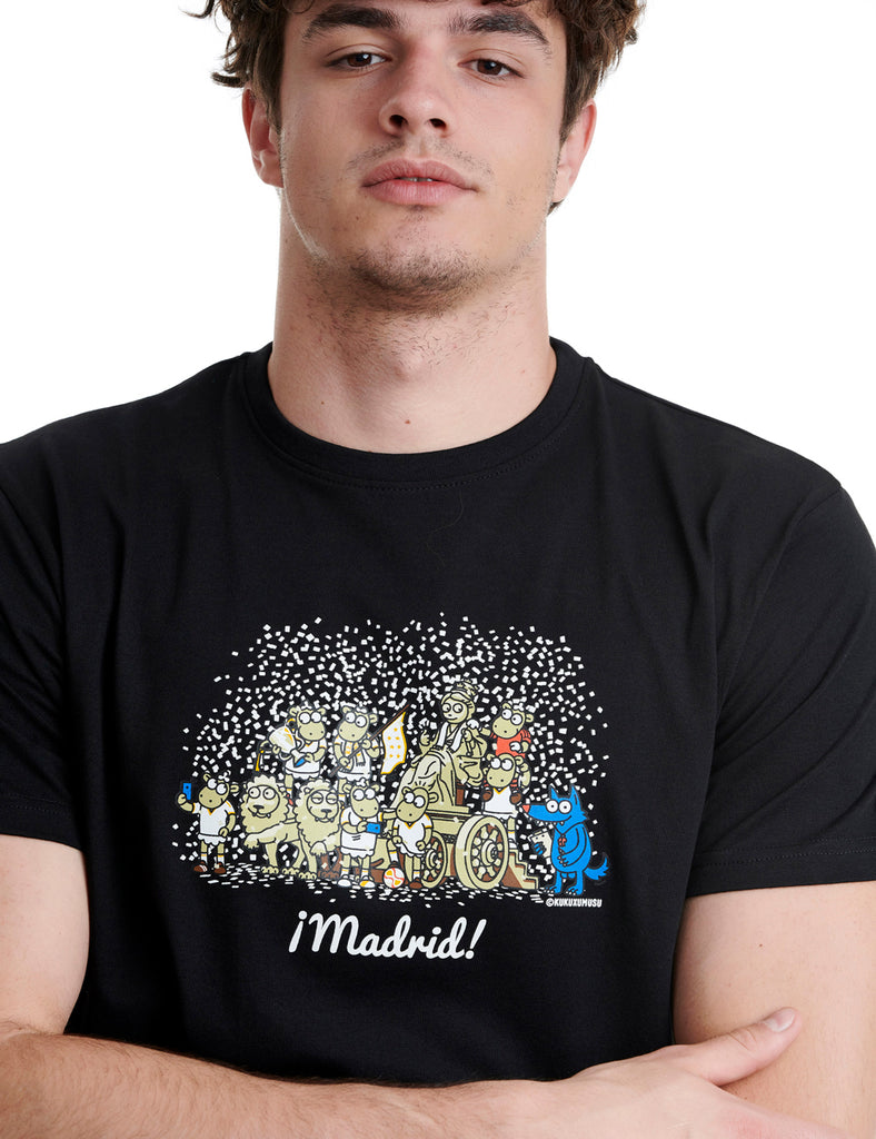 Cibeles Real Mens T-shirt