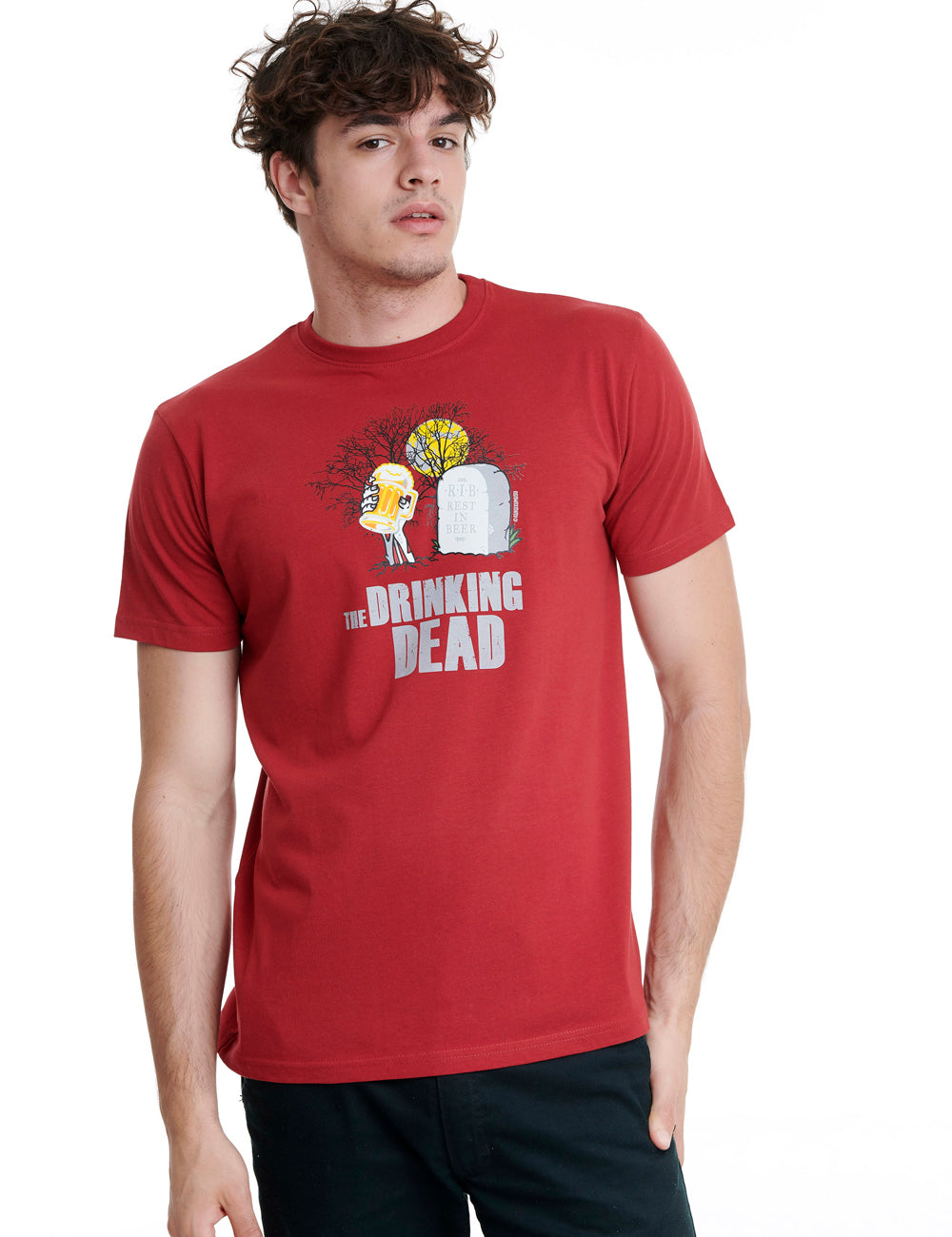 Drinking Dead Mens T-Shirt
