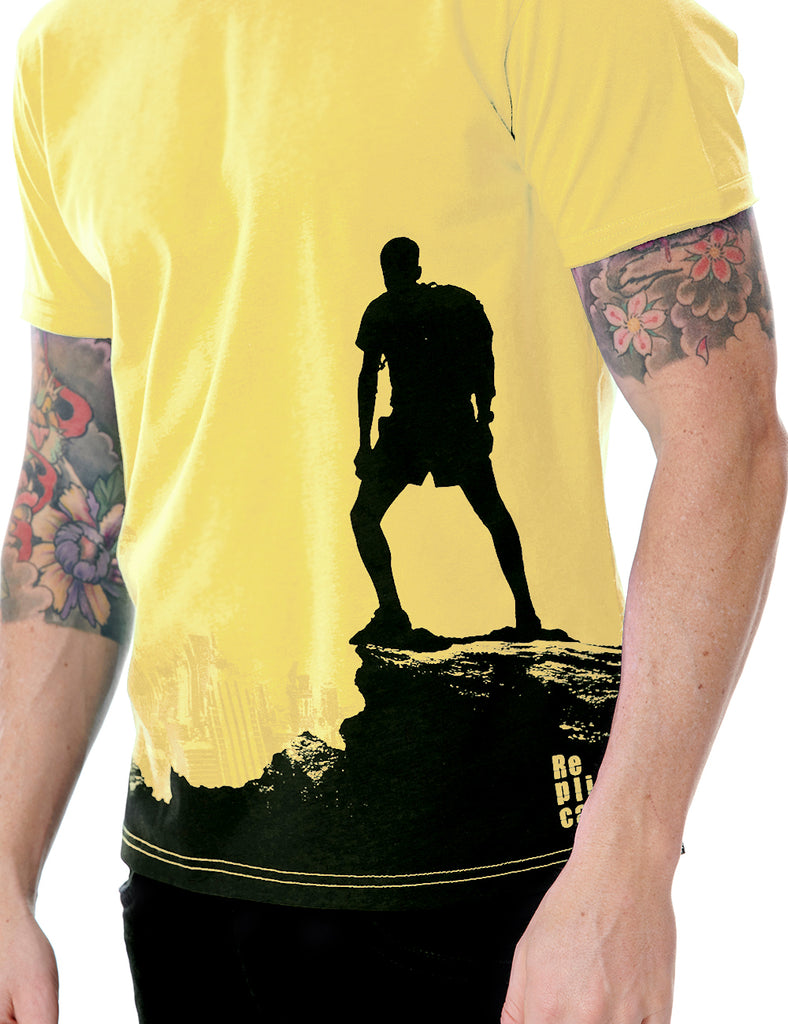 View tshirt Replica Greece Yellow