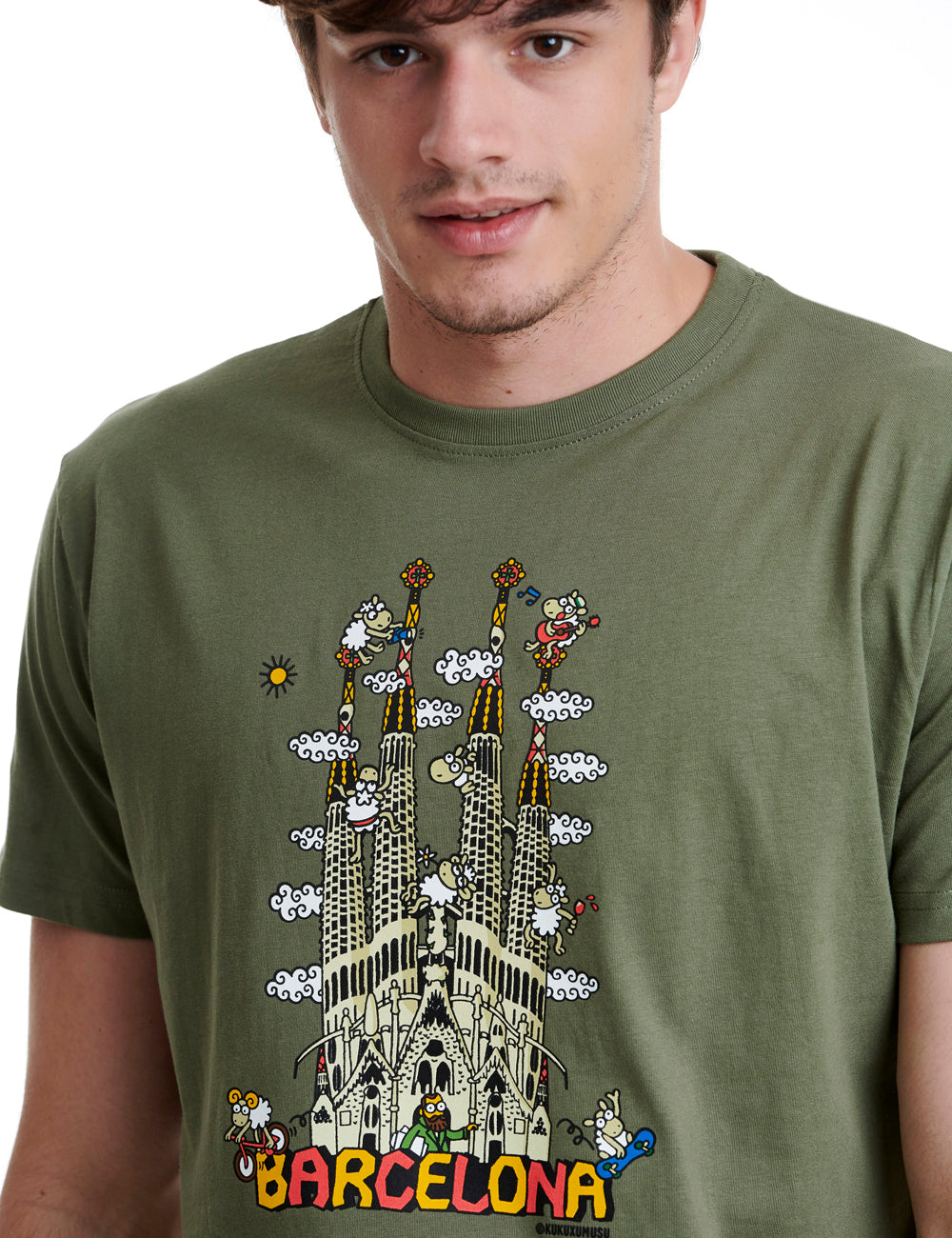 Sagrada Familla Mens T-shirt