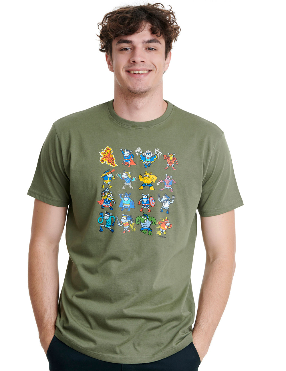 Super Sheeps Mens T-shirt