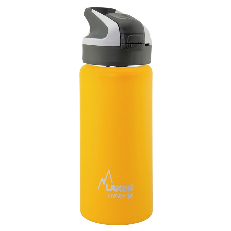 Θερμός Laken 500ml Yellow με Summit Cap