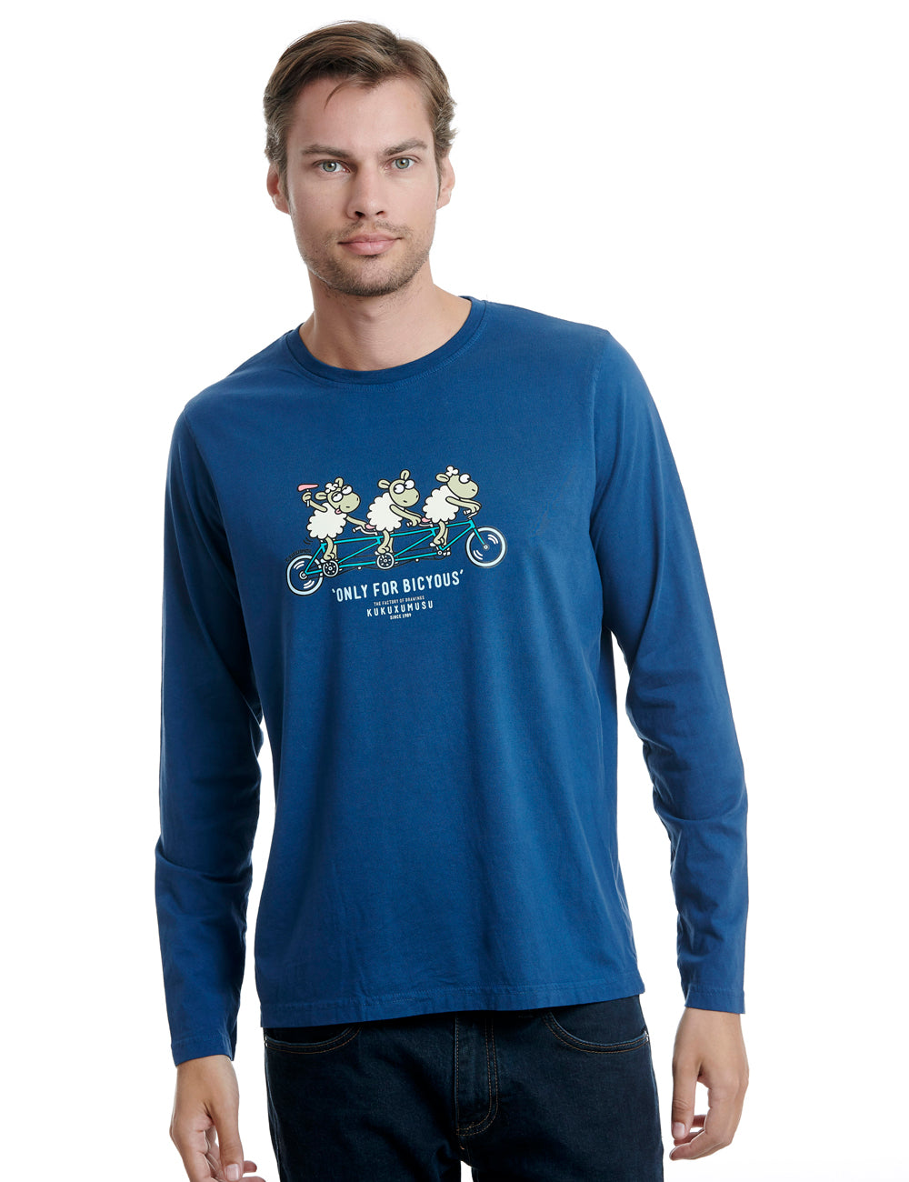 Tandem long sleeve kukuxumusu blue