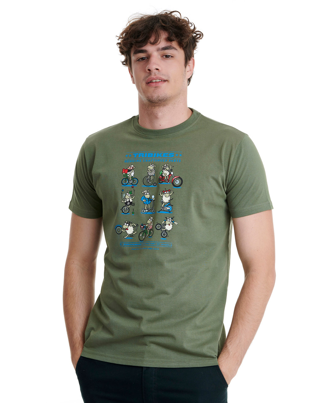 Tribikes Mens T-Shirt