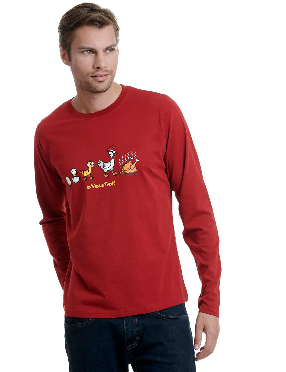 Zuring long sleeve kukuxumusu red