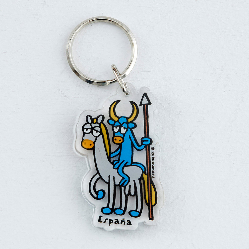 key holder kukuxumusu Quijote